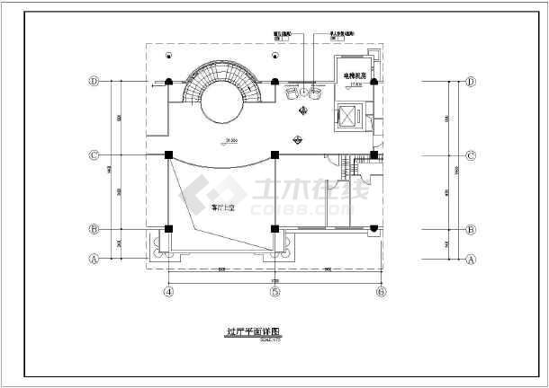 某地区图纸装修图纸(含详图、符号)_cad客厅下自动生成内容根据程序图片