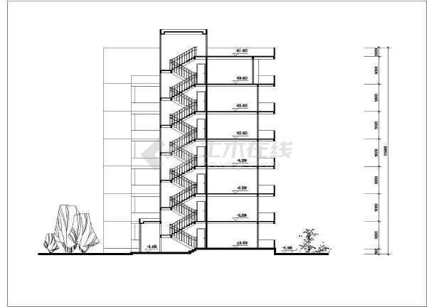 多套单元式住宅户型平面图免费下载 建筑户型平面图