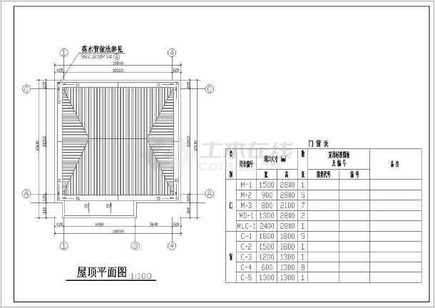 某新型农村地籍住宅楼建筑设计标准图纸的二层图纸图片