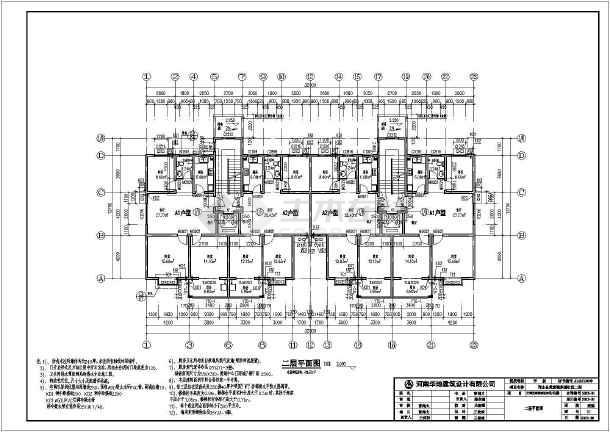 七层结构房建筑设计图纸(全套、比较标注齐全图纸v结构电梯初步图片