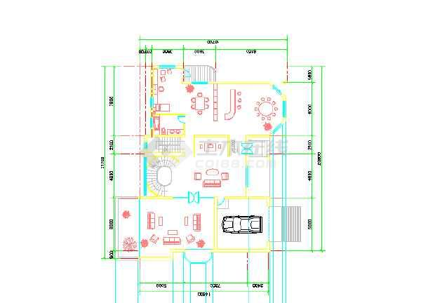 农村房屋设计平面图330平方