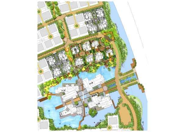 别墅会所景观设计_cad图纸下载-土木在线
