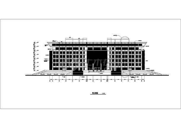 山东多层框架结构大学图书馆施工组织设计