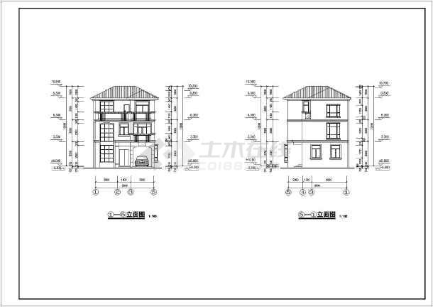 相关专题:三层别墅施工图