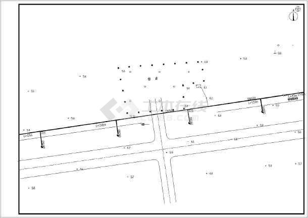 某市政给水管网工程输水管道设计图