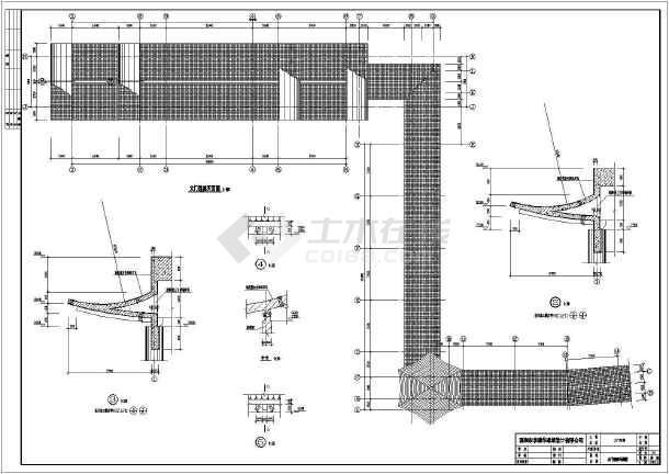 两层房屋建筑施工图 两层别墅设计施工图 两层别墅施工图  所属分类