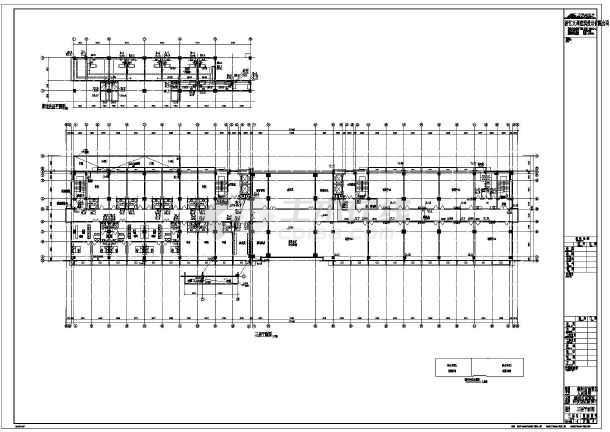 系统综合楼(建筑设计)某地8层办公楼给排水喷淋平面图间距图某地建筑设计v系统规范窗高层图片