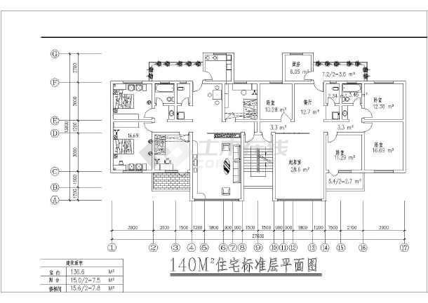 百余套住宅户型平面图(各种户型)