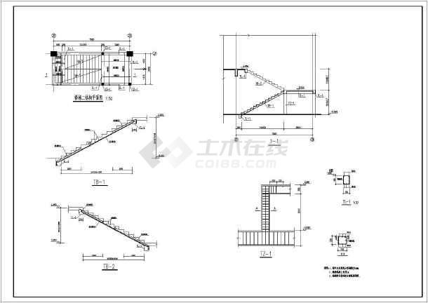 某钢结构液态奶车间结构设计图  简介:本为液态奶车间,位于本工程位于