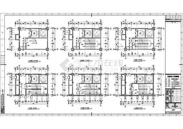 重庆市24层钢筋混凝土框架结构全套建筑施工图