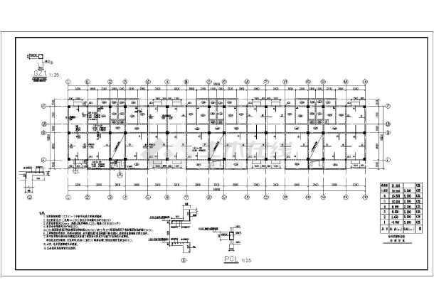 尖端设计院的商住楼(全套)结构图纸