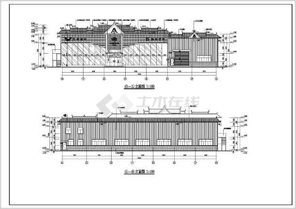 【云南瑞丽】汽车修理厂建筑施工设计图