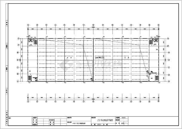 某地厂房室外及仓库室内建筑给排水设计图