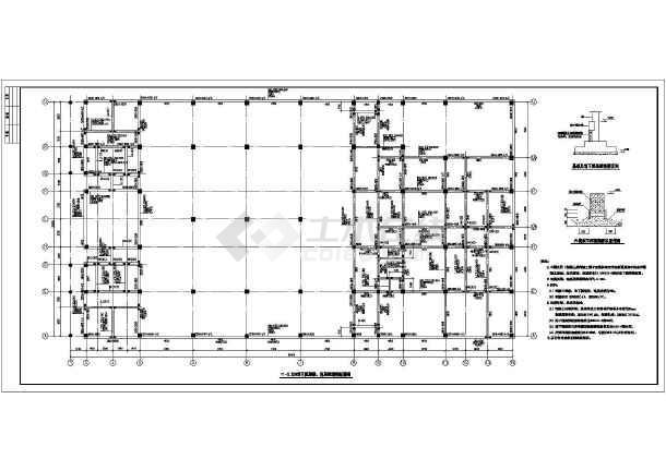 柱结构配筋图,,连系梁模板图,板配筋图,梁配筋图,设计说明,网架结构
