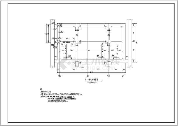 某地框架全套车站地铁建筑结构结构施工图_c2010cad入门基础知识图片