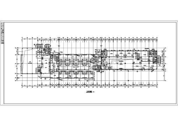 某市9层混凝土框架结构星级酒店建筑施工图纸