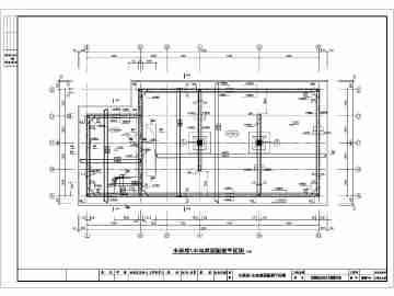 某单位内300立方消防水池建筑施工图
