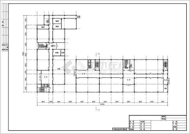 某地区方案教学楼建筑平面设计开本特点经典着作中学v方案图纸图片