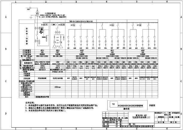 某工程供配电系统图-图3