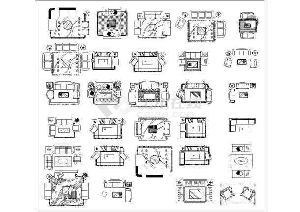 天正CAD油壶收集_cad图纸下载图例图纸注塑模具盖小图片