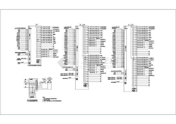 酒店客房精装修电气设计图纸-rcu