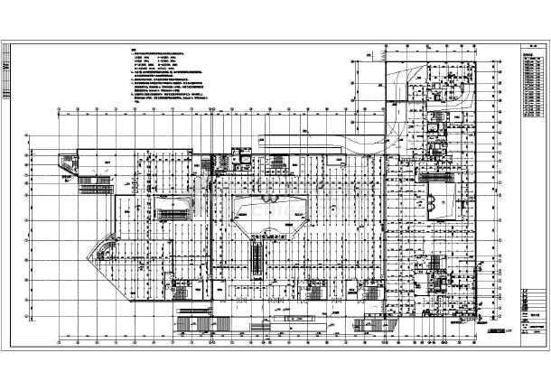 中型商场设计平面图