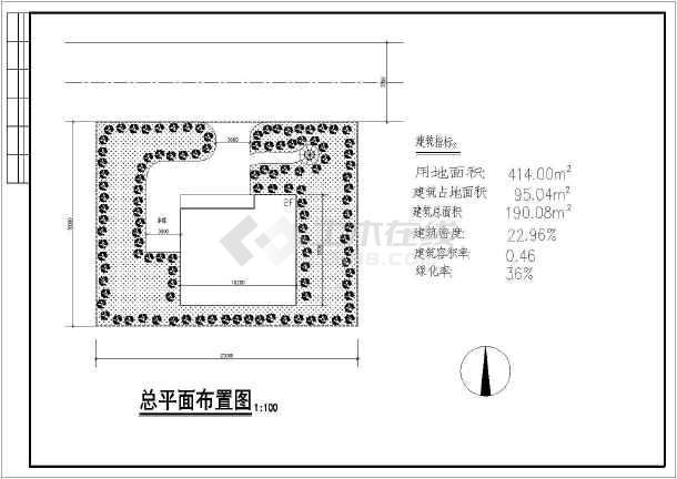 某地两层实用新农村房屋建筑设计图