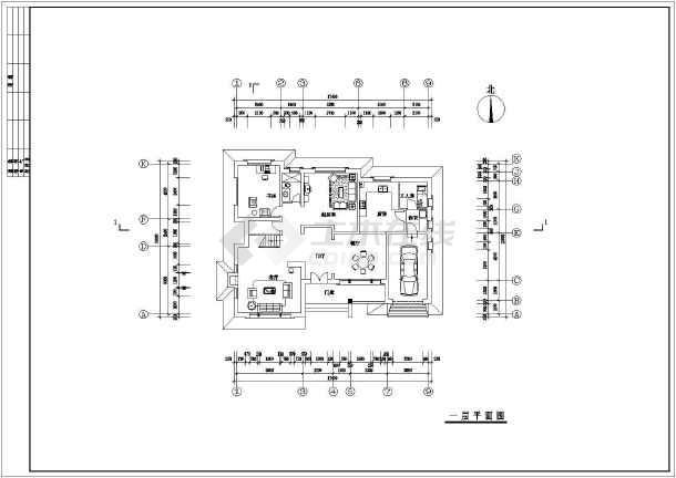 2层别墅平面设计图