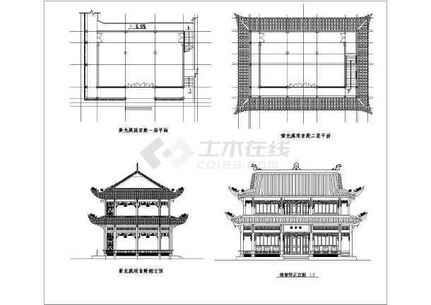 古代建筑平面图