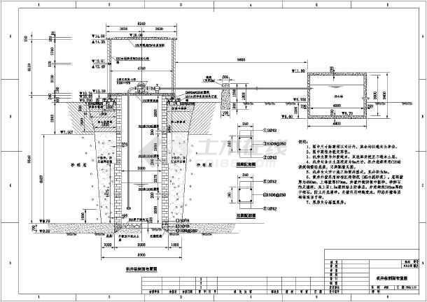 某处10m深机井平面布置以及结构图v机井国外有没有室内设计师图片
