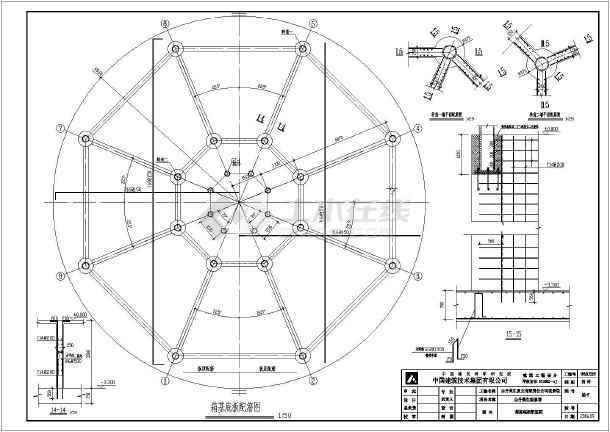 凝土观光塔结构图