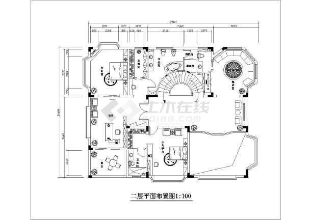 剪结构四室两厅两卫家装设计图  相关专题:梦清园人工湿地 个园平面图