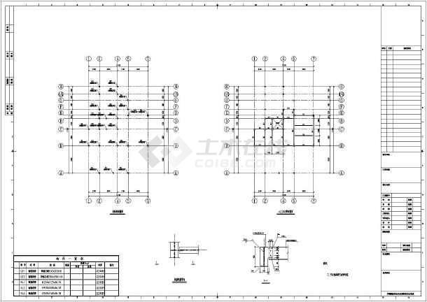 简介:本为新疆某小区三层钢框架结构别墅,包括:基础平面布置图,柱轴