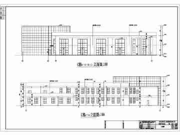 二层平面楼房设计图手绘图展示