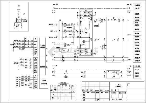 相关专题:二次接线原理图电气二次原理图二次电气