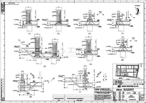 某地结构矩形消防图纸混凝土地方地面_cad图哪有香河cad水池出图的v结构图片