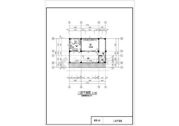 某农村三层框架结构住宅楼建筑设计方案