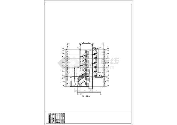 新疆某地6层住宅楼建筑设计施工图