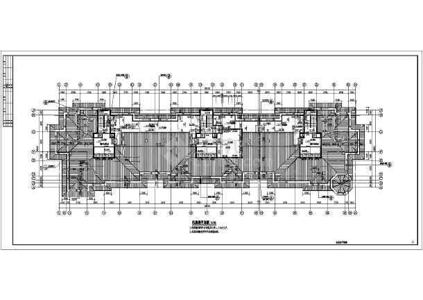 某小区高层经典住宅建筑方案设计图