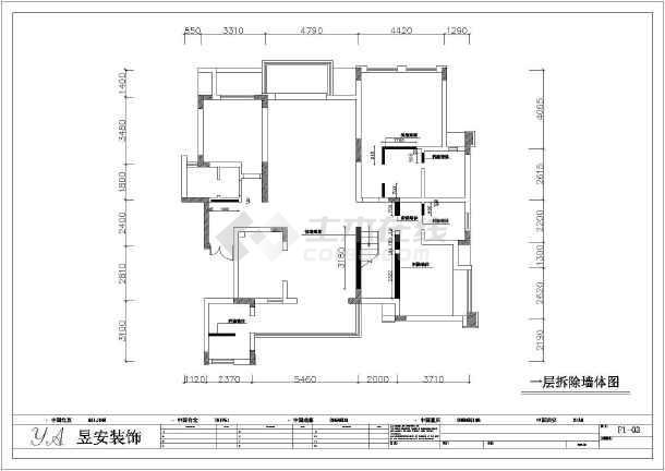 某全套小区欧式二层的别墅装修施工图人家a全套别墅图片