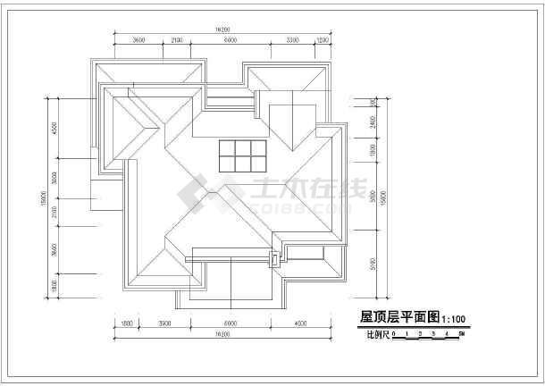 别墅设计方案 某地超经典的砖混结构小别墅设计施工图纸    价格: 90
