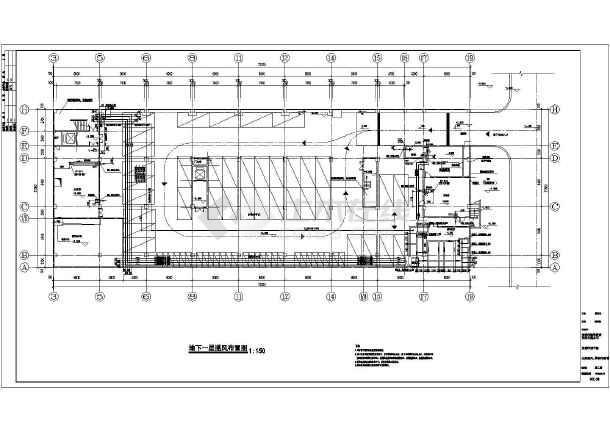 某医院空调通风防排烟施工图-图3