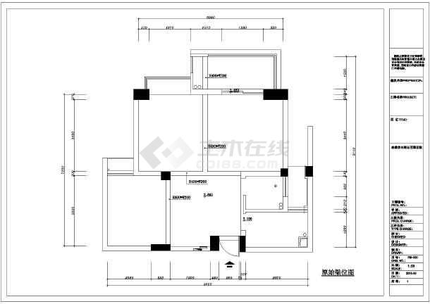 某小区住宅装修设计v图纸cad图纸_cad抽屉拉手cad图纸怎么下载画中图片