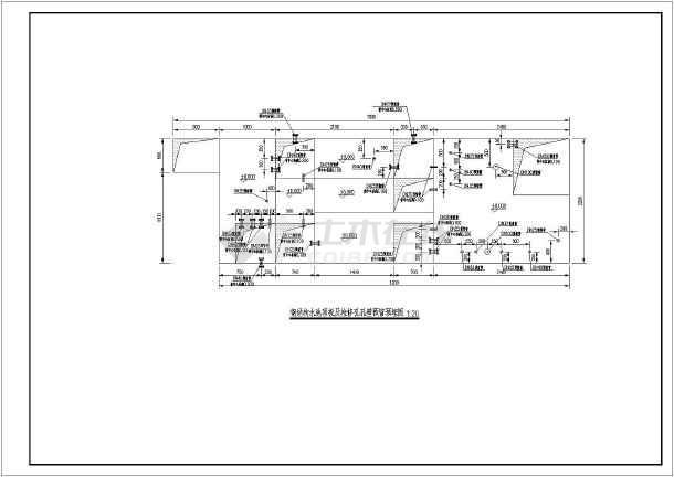 钢结构水池工艺安装大样图