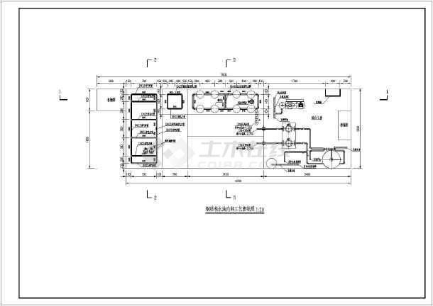 钢结构商标工艺安装水池图_cad大样下载豆图纸图纸拼图片