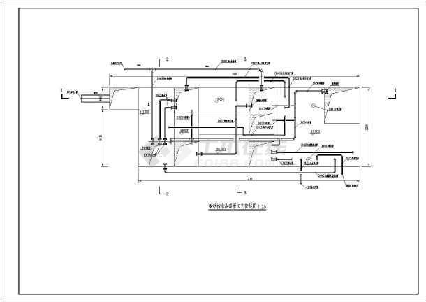 钢结构图纸大样安装工艺图_cad样本下载水池机械加工图纸图片
