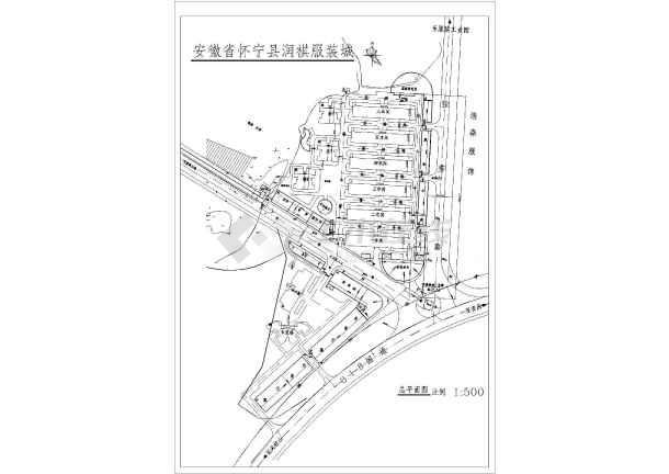 【安徽】服装城绿化景观设计全套图纸