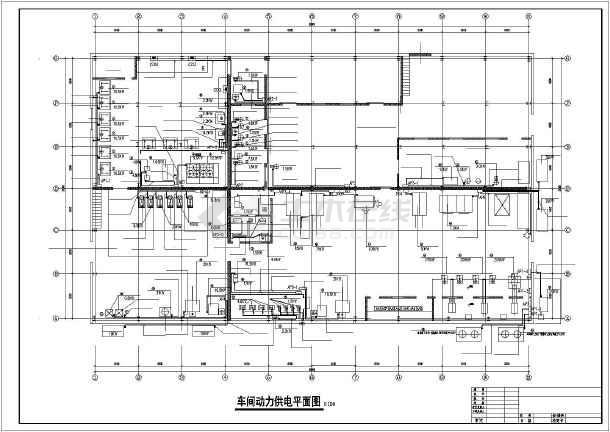 工厂供电课程设计某机械加工车间低压配电系统及车间变电所设计图片
