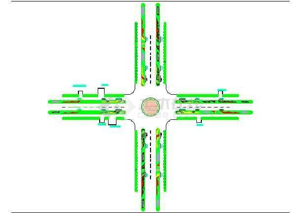 cad平面图边框2004