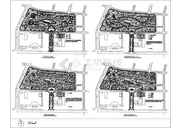 建筑总平面图分析